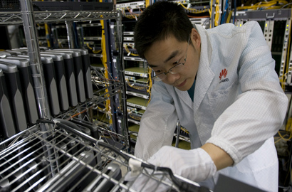 Huawei becomes SAP's first Chinese global technology partner