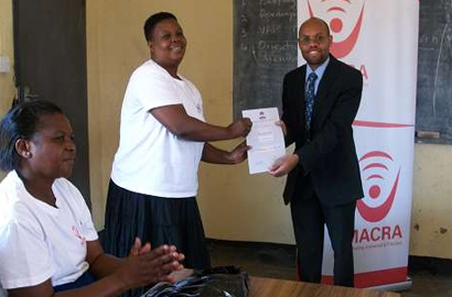 MACRA trains women in ICT