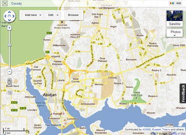 World Bank, Google, collaborate on maps