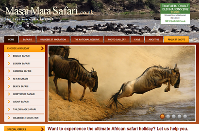 New UK site punts Kenyan safaris