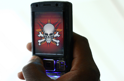 Viruses threaten mobile devices