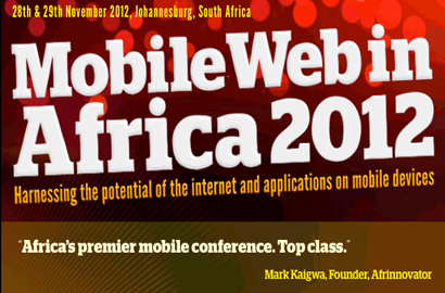 Mobile Web Africa 2012 agenda and speakers announced