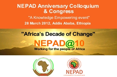 Nepad talks in Ethiopia this month.