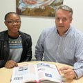 Xoliswa Pearl Mhlanga and Anton Jacobsz