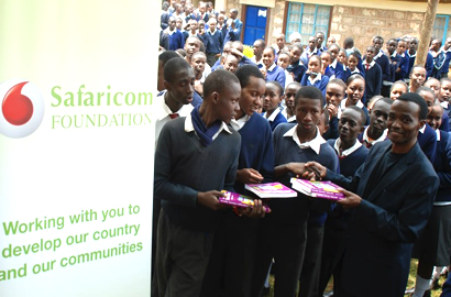 Safaricom funds school text books