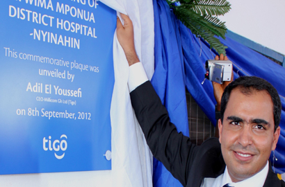 General Manager of Tigo Ghana, Adil El Youssefi