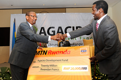 MTN supports Rwandan development fund