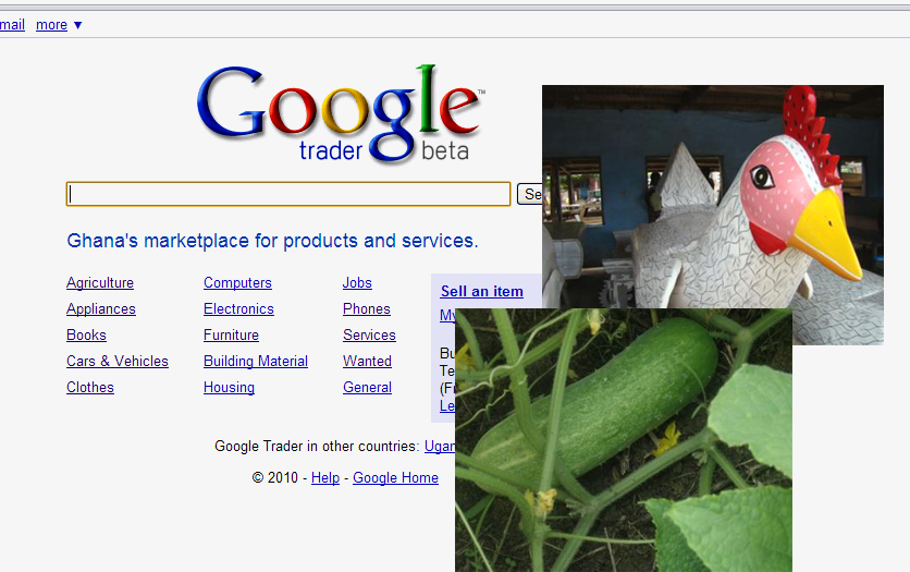 Google takes free trade online in Ghana
