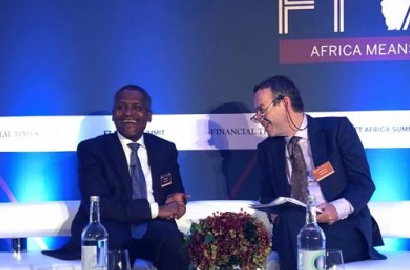London: Dangote urges deepening of African economy through free trade