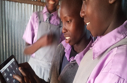 e-Learning goes to Kenyan schools