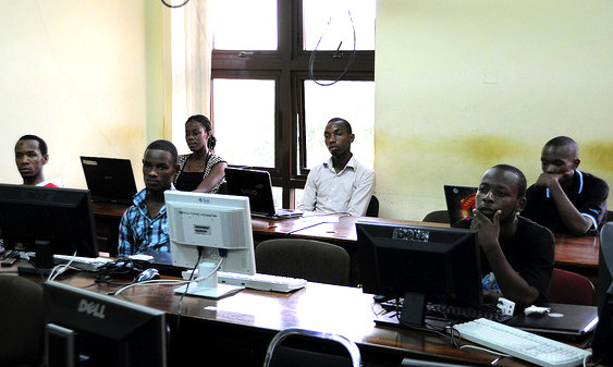 Tanzanian interns get FOSS training