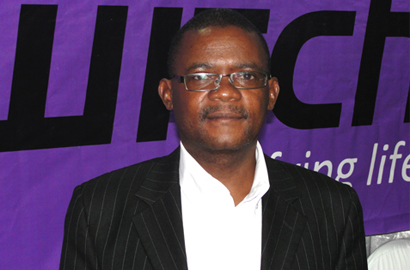 MALSWITCH CEO Gideon Kalumbu-Phiri