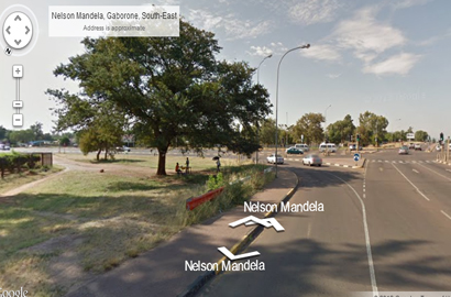 Google Street View live in Botswana