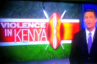 Kenyans angered by violence claim