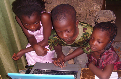 Children at the mercy of cyber-threats