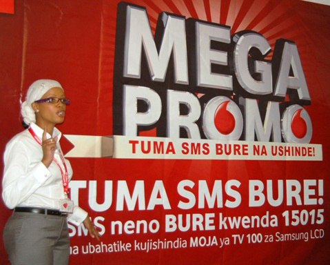 Over 1bn shillings in Vodacom Tanzania contest