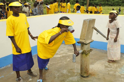 MTN Foundation supplies water to more than 170,000 people in Cameroon