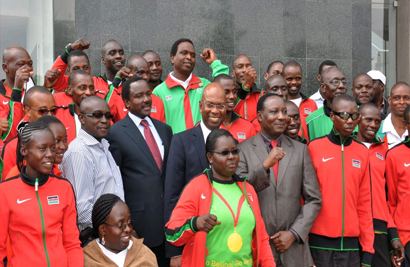 Safaricom wishes Kenya's team well for the upcoming Paralympics