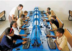 Q-KON networks for Swaziland schools