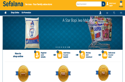 Wholesaler brings Online Grocery Shopping to Batswana