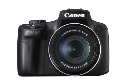 Canon unveils world's first 50x optical zoom compact camera