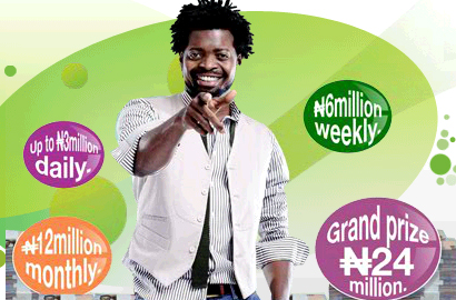 "Glo splashes N300m on Season 3 ""text4millions"" promo"