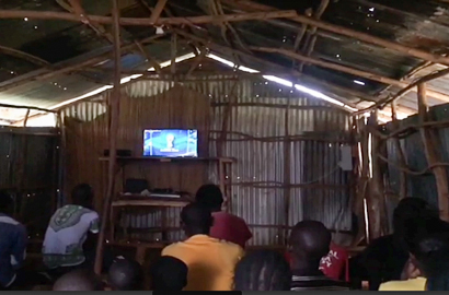 World Cup fever comes to remote villages thanks to local solar mini-grids