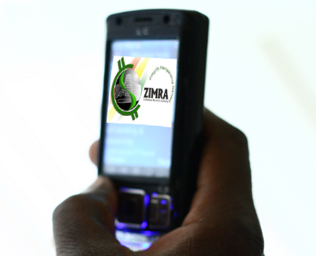 Zim receiver in mobile tax pilot