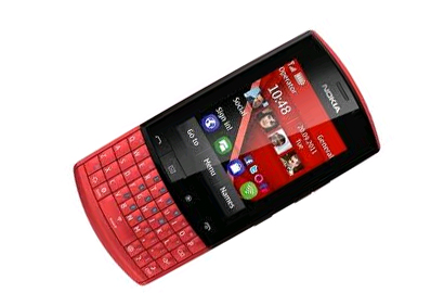 On the other hand the Nokia Asha 305 is the first full touch Asha