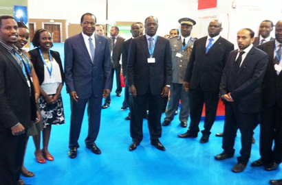 Rwanda's stand at Telecom World by RDB