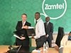 Dr Nobuhiro Endo, President at NEC Corporation, and Dr Mupanga Mwanakatwe, CEO  of Zamtel