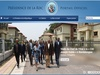 Which African president has the best website?