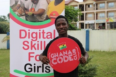 Young Ghanaian innovator shows Africa's future lies in its talented youth