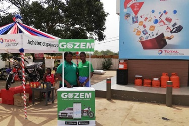 Gozem, Total Togo partner to educate drivers in Togo