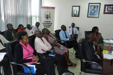 NITA-U sensitises Road Fund staff on ICTs and information security