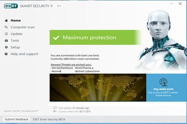 ESET launches Smart Security 9 and ESET NOD32 Antivirus 9