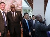Ghana's President Akufo-Addo courts top Chinese tech CEOs