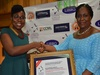Barbara Asante from Tigo Insurance wins Outstanding Mobile Insurance Personality of the Year