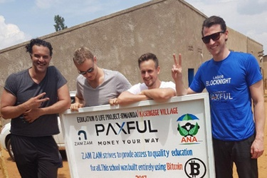 Bitcoin-funded charity in Africa? Yes, says Paxful