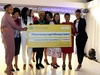 MTN gives a women's rights organisation a financial injection