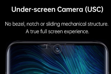 OPPO Mobile Unveils the World's First Under-Screen Smartphone Camera