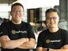 HelloGold Co-Founders Robin Lee (R) and Ridwan Abdullah (L)
