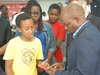 Minister encourages young innovators
