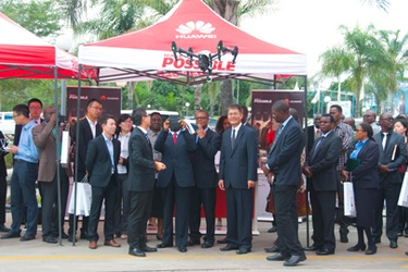 Huawei takes big data solutions to Zambia