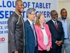 USAID and KOICA Enhance Health Care Using Samsung e-Tracker Tablets