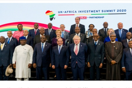 British Prime Minister, African leaders urge investors to accelerate economic role on the continent