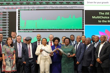 MultiChoice Group lists on the JSE