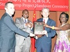 China donates $800,000 in solar street lights to KCCA