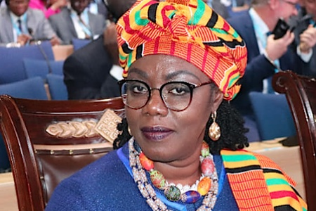 Ghana's Communications Minister, Ursula Owusu-Ekuful