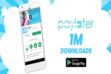Paylater, the app providing Nigerian consumers with access to credit, reaches 1 million downloads
